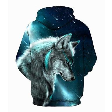 241ad5d849 Lolittas 3D Wolf Hoodie Hoody Men Oversized Goth Pullover Top,3D Print Full  Longline Asymmetric Thin Fit Sweatshirt Sweater Max Size XXL XXXL XXXXL  XXXXXL: ...