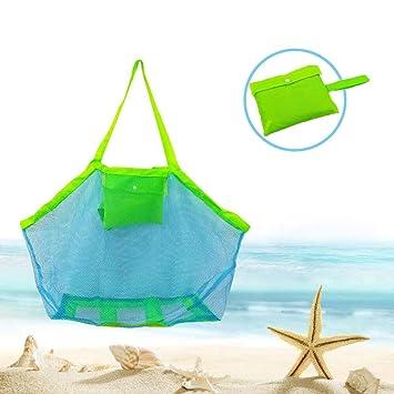 SWNKDG Bolsa de Playa con Malla Bolsa de Playa XXL Bolsa de ...