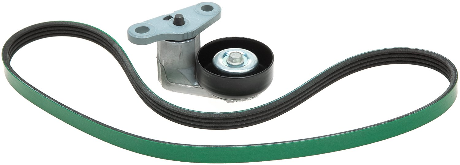 ACDelco ACK040378HD Professional Accessory Belt Drive System Tensioner Kit with Belt and Tensioner