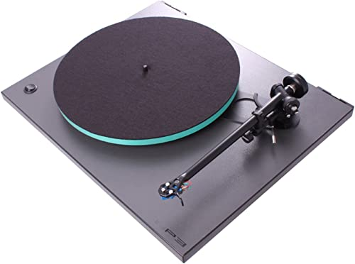 Rega RP3 Turntable with RB303 Tonearm Cool Grey