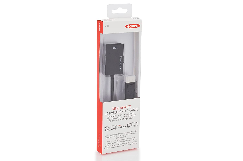 Cables DisplayPort ednet Activa de Mini DisplayPort a HDMI ...