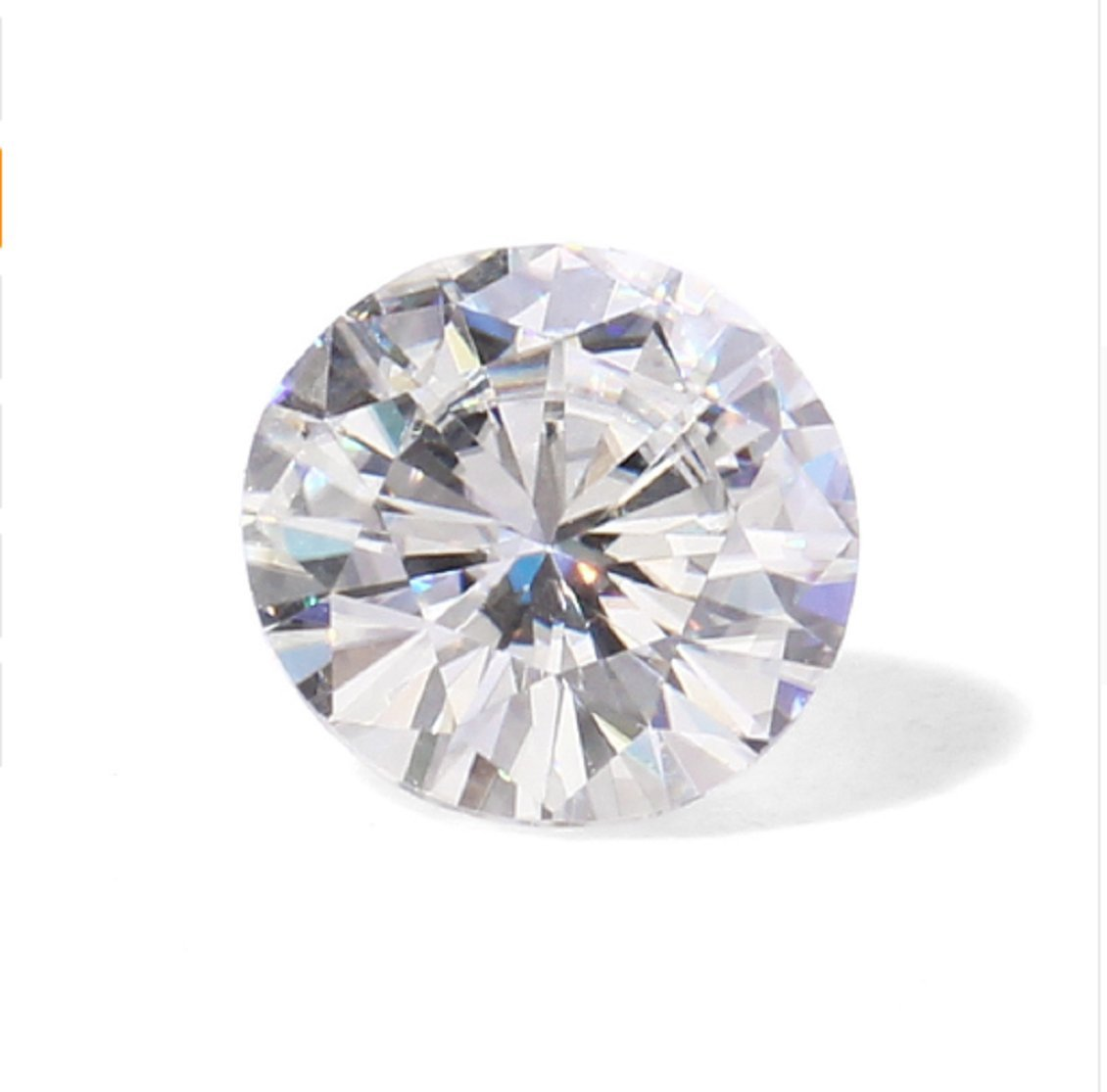 GOWE 6 Carat 12mm F Color Lab Grown Moissanite Multicolor Diamond excellent cut Gemstone For Fashion Jewelry