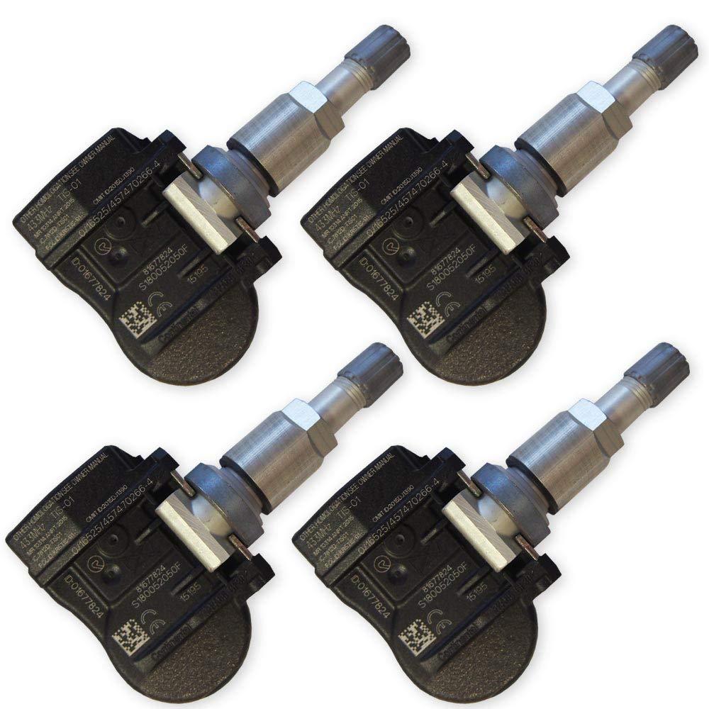 4 Reifendrucksensoren Continental/VDO fü r Fiat 124 Spider Reifendruckkontrollsystem 6278