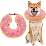 BINGPET Dog Inflatable Recovery Collar - Soft Pet Surgery Collar for Dogs & Cats, Comfortable Protective E Collar Prevent fro