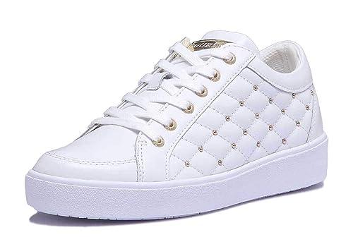Guess Glinna, Zapatillas de Gimnasia para Mujer: Amazon.es: Zapatos y complementos