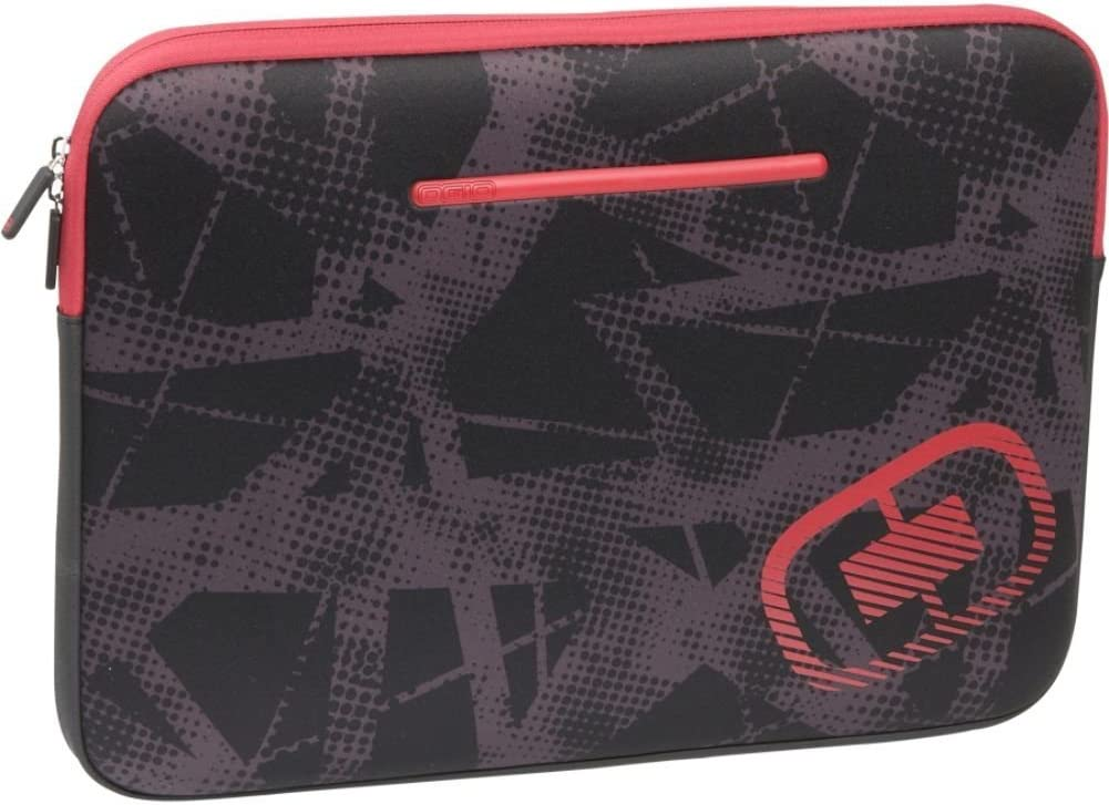 OGIO Business and Luggage Medium Neoprene Laptop Sleeve--Red/Fracture, 16''