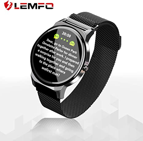 Smart Watch, Touchscreen Smartwatch Compatible with Android iOS Phone, Ip67 Waterproof Fitness Tracker Watch with Heart Rate Sleep Monitor Calorie ...