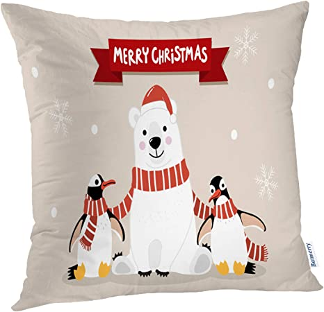 Winter Pillow Covers 18x18 Inch