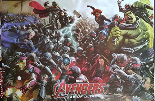 (THE AVENGERS Age of Ultron Marvel Full Wall Huge HD Poster 24x36 inches NEW)