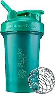 BlenderBottle Classic V2 Shaker Bottle, 20-Ounce, Emerald Green