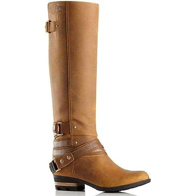 3b26efd994a069 Amazon.com | Sorel Women's Lolla Tall Boot Elk / Autumn Bronze - 9.5 ...