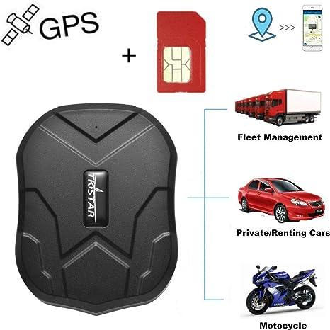 Winnes Rastreador GPS con Tarjeta SIM, rastreador GPS ...