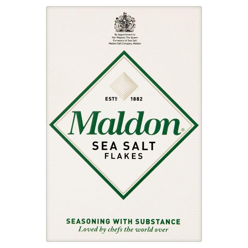 Maldon Sea Salt Flakes (125g) - Pack of 2