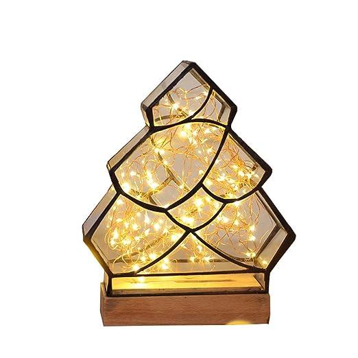 YGMDSL Luz De Noche Tipo De Arbol Lámpara De Mesa Habitación ...