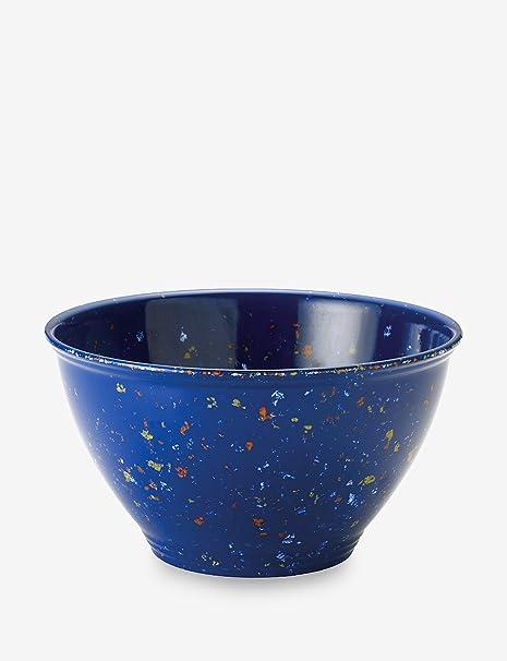 Rachael Ray 4-qt. Azul de melamina tazón de basura: Amazon ...