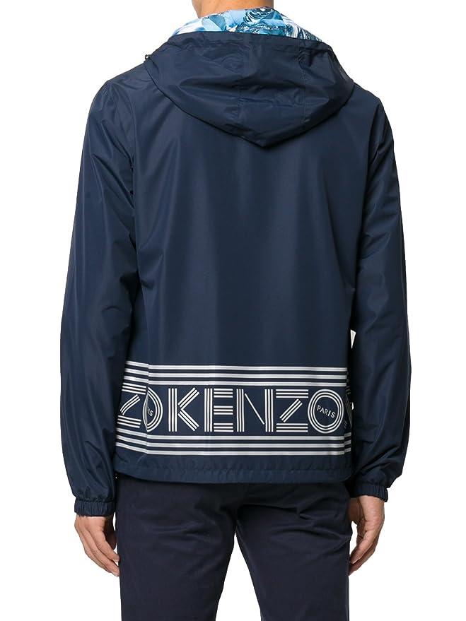 Kenzo - Chaqueta - para hombre azul azul: Amazon.es: Ropa y ...