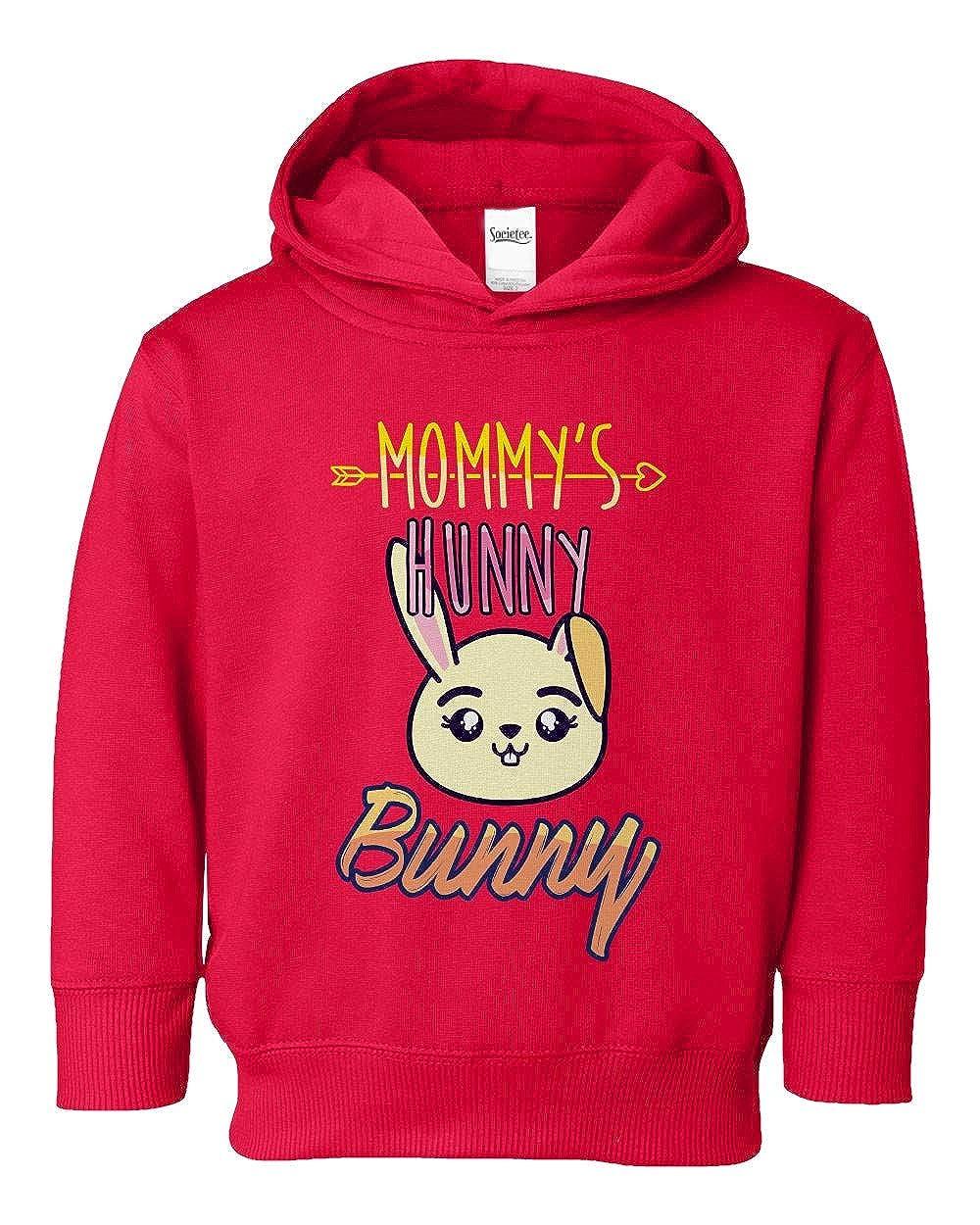 Societee Mommys Hunny Bunny Adorable Girls Boys Toddler Hooded Sweatshirt