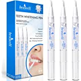 Beaueli Teeth Whitening Pen, 3 Pack, 35% Carbamide Peroxide, Natural Mint Flavor, Glycerin Drops, Safe, Easy to Use…