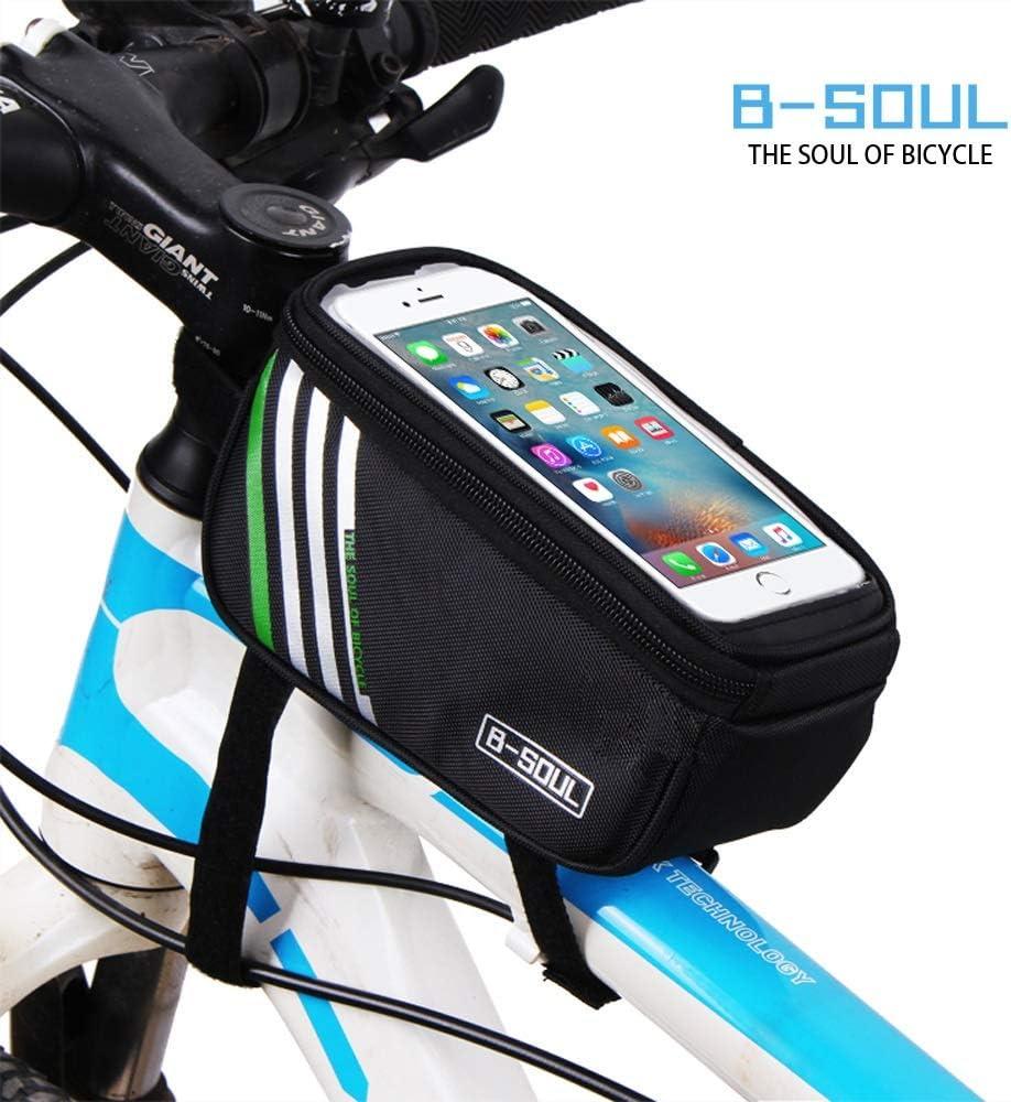 Color : 2, Size : 4.8inch Cvxgdsfg Fahrradtasche Touchscreen Handytasche Autotasche Autotasche Oberrohrtasche Werkzeugtasche Reitausr/üstung