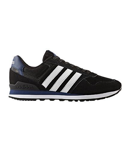 adidas Herren 10K Fitnessschuhe schwarz (NegbasFtwbla