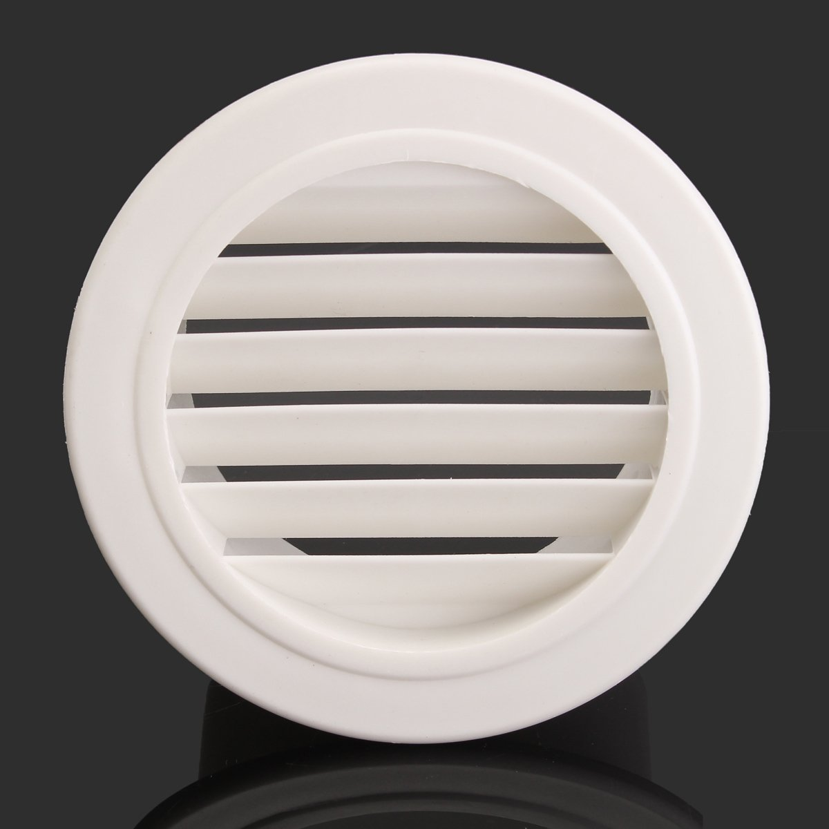 Yingte Air Vent ABS Grille,2-Pack 4 Inch White Color