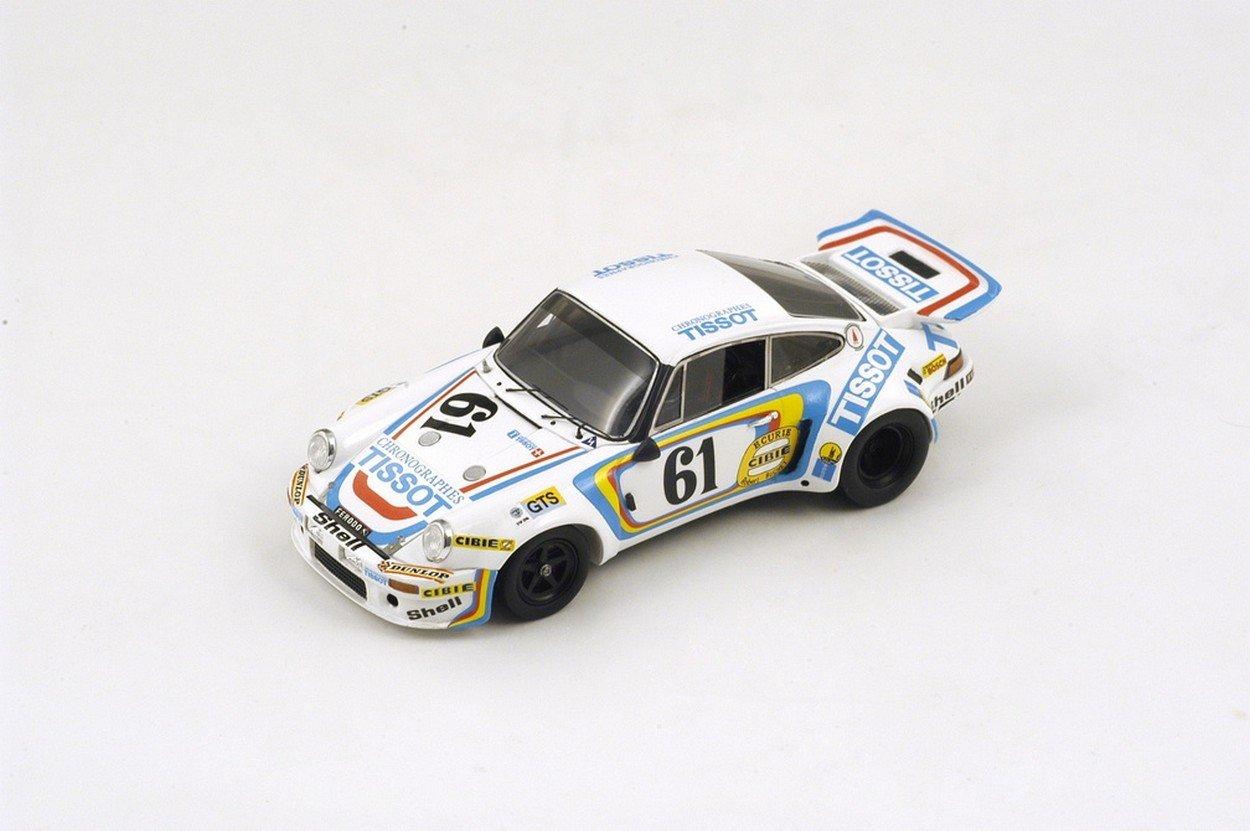Spark Model S3494 Porsche Carrera RSR N.61 DNA LM 1974 J.SELZ-F.VETSCH 1:43