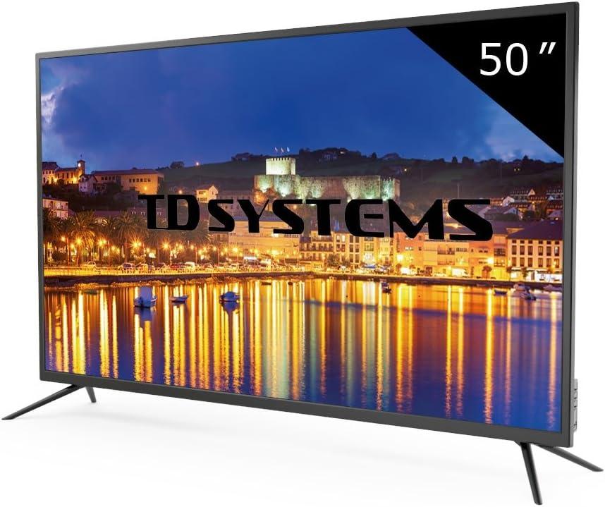 TD Systems K50DLG8F - Televisor Led 50 Pulgadas Full HD ...