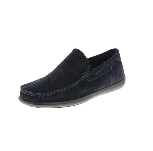 FRAU 14C4 FX zapatos azules hombre holgazanes única luz extra: Amazon.es: Zapatos y complementos