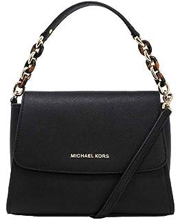 2c896ce81e19 Michael Kors Sofia Portia Small East West Satchel Crossbody Bag in Black