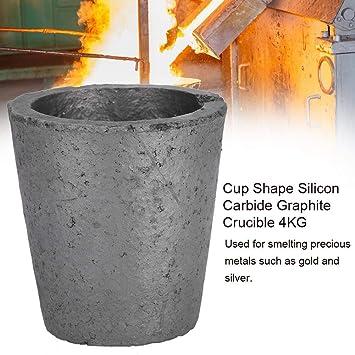 Forma de copa Grafito de carburo de silicio, Copa de crisoles de ...