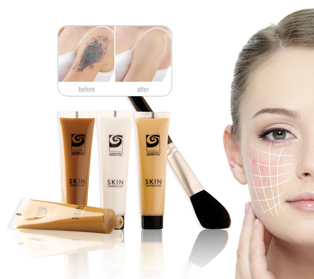 Rio Skin Camouflage Make Up Concealer for Tattoo, Scar & Birthmark ...
