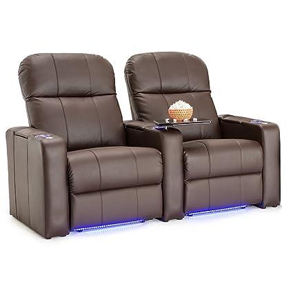amazon com seatcraft venetian home theater seating manual recline rh amazon com