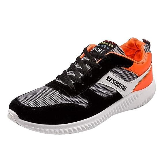 Zapatillas de Hombre, Malla de los Hombres de Malla Transpirable Zapatillas Deportivas Calzados Informales Hombres
