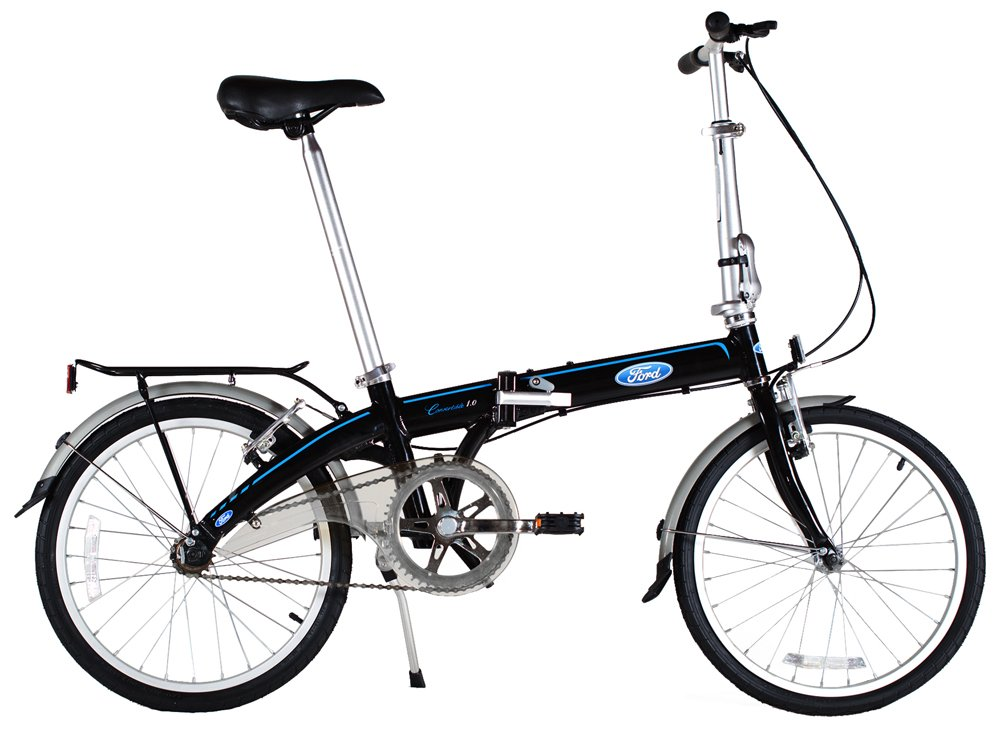 Ford by Dahon Convertible Single Speed Folding Bicycle B01178NAR8
