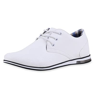 SCARPE VITA Klassische Herren Business Schnürer Modische Anzug Schuhe  165458 Weiss 40 6734e2d930