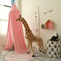 Canopy de cama redondo, dosel de algodón, mosquitero