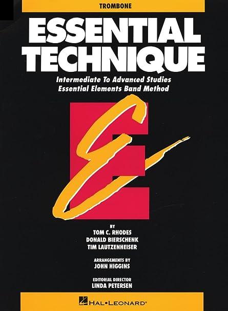 Essential Elements: A Comprehensive Band Method Essential Technique - Trombone