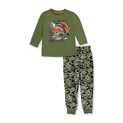 Sleep On It Little Boys'2-Piece Pajamas
