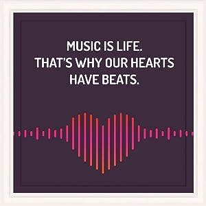 Music Teacher Gifts | 7x7 Tile Artwork Perfect for Music Lover | Appreciation Gift for Teachers | Present for Musicians | Great Present for Studio or Classroom Decor | Ideal for Men & Women