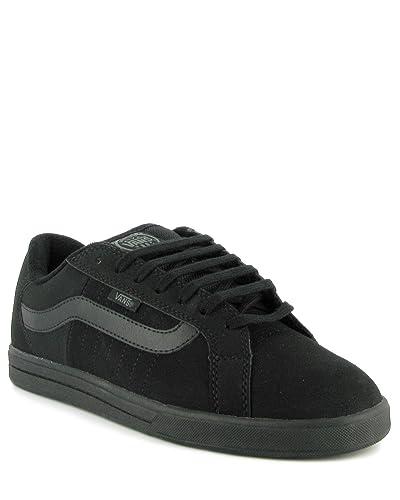 5fc0f239ce Vans Rowley Stripes Synthetic Black Black JLA0P7 (UK12)  Amazon.co ...