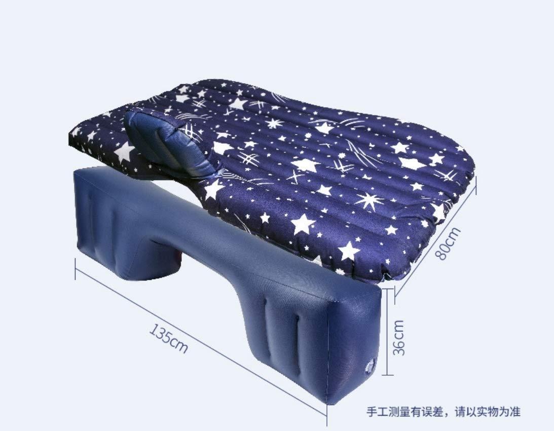 HONGLIAuto aufblasbare Bett Auto Matratze hintere Reihe Auto Schlafkissen Auto Luft Bett Reisebett Auto