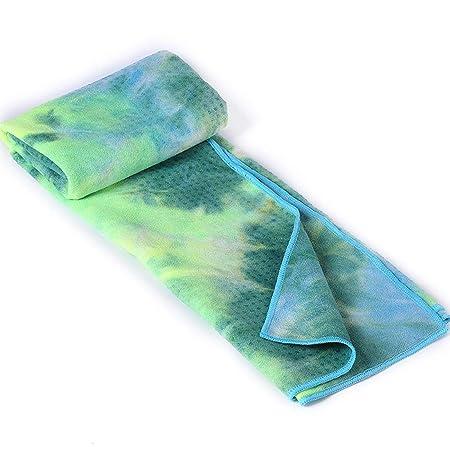 Tie-Dye Toalla de Yoga Silicona Antideslizante Manta para ...
