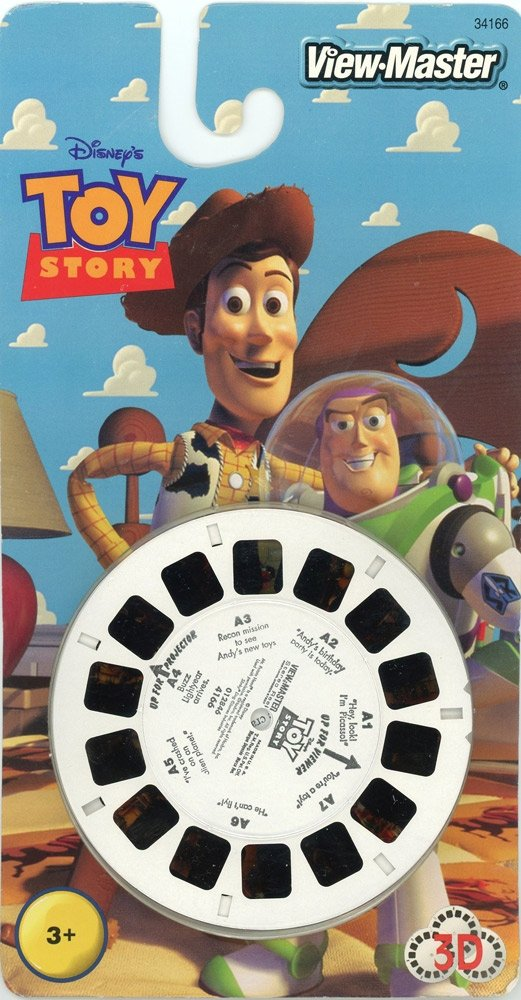 View-Master 3D Reels: Toy Story 1