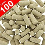 : 100 Blank Wine Bottle Corks- Bulk New #9 Agglomerated Natural Corks Best for Corking Homemade Wine Making With Home Corker or Craft Cork Supply for DIY Art Winecork Projects.