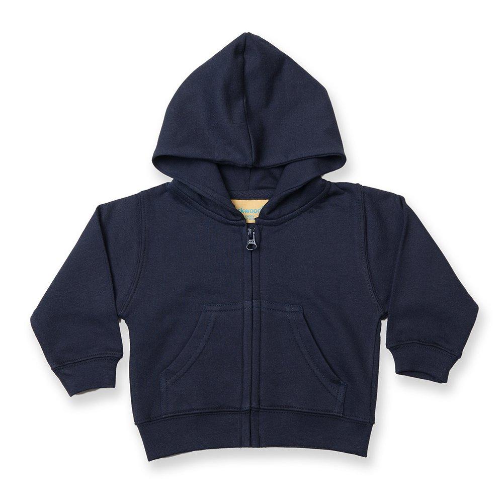 Larkwood - Felpa con Cappuccio per Neonato (3-4 anni) (Bianco) UTRW788_5