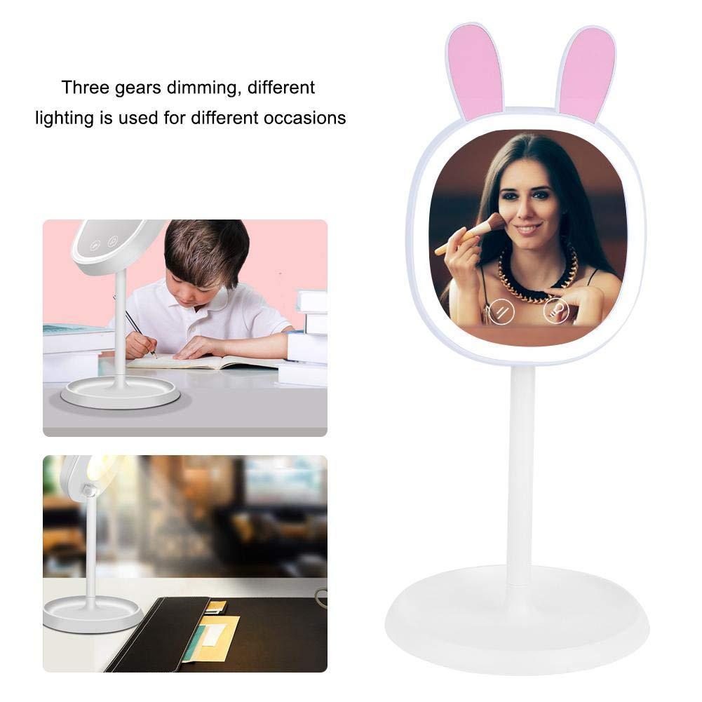 lampada da tavolo a tre velocit/à specchio da trucco con lampada semplice lampada da tavolo LED a doppio uso Lampada LED per il trucco
