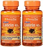 Cheap Puritan's Pride Lutein 40 mg with Zeaxanthin-60 Softgels 2 Pack