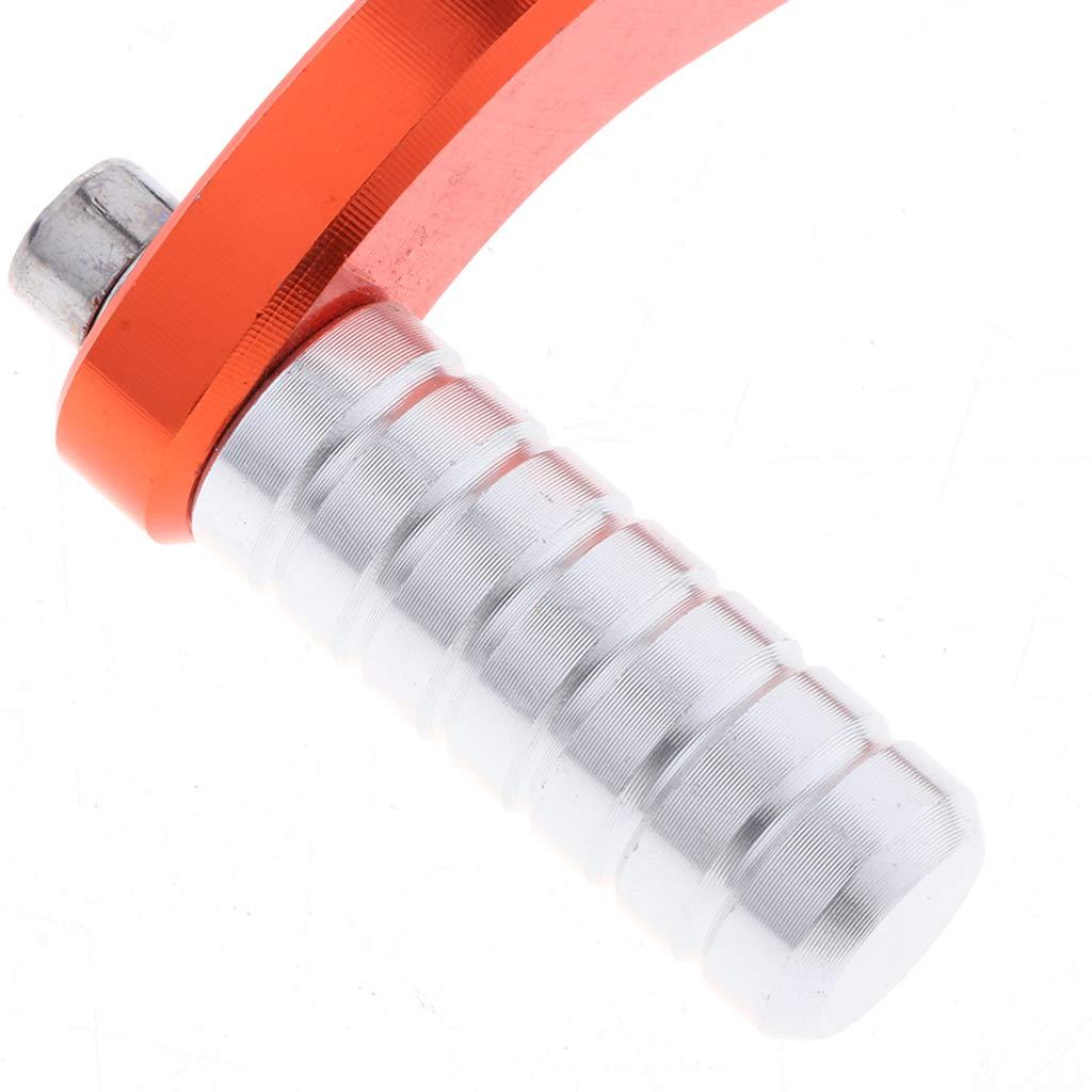 Rouge Shiwaki CNC S/électeurs de Vitesse Levier P/édale Changer Vitesse R/églable Frein Moto Pliable