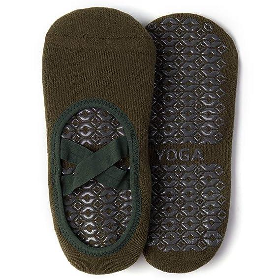Dance Ballet NIKKOYA Yoga Socks for Women Non-Slip Grips /& Straps Barefoot Workout Ideal for Pilates