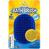 Bodhi Dog New Grooming Pet Shampoo Brush   Soothing Massage Rubber Bristles Curry Comb for Dogs & Cats Washing…
